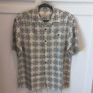 Tommy Bahama silk shirt size medium